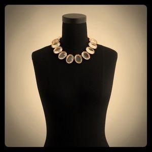 NWT J Crew oversized gem necklace